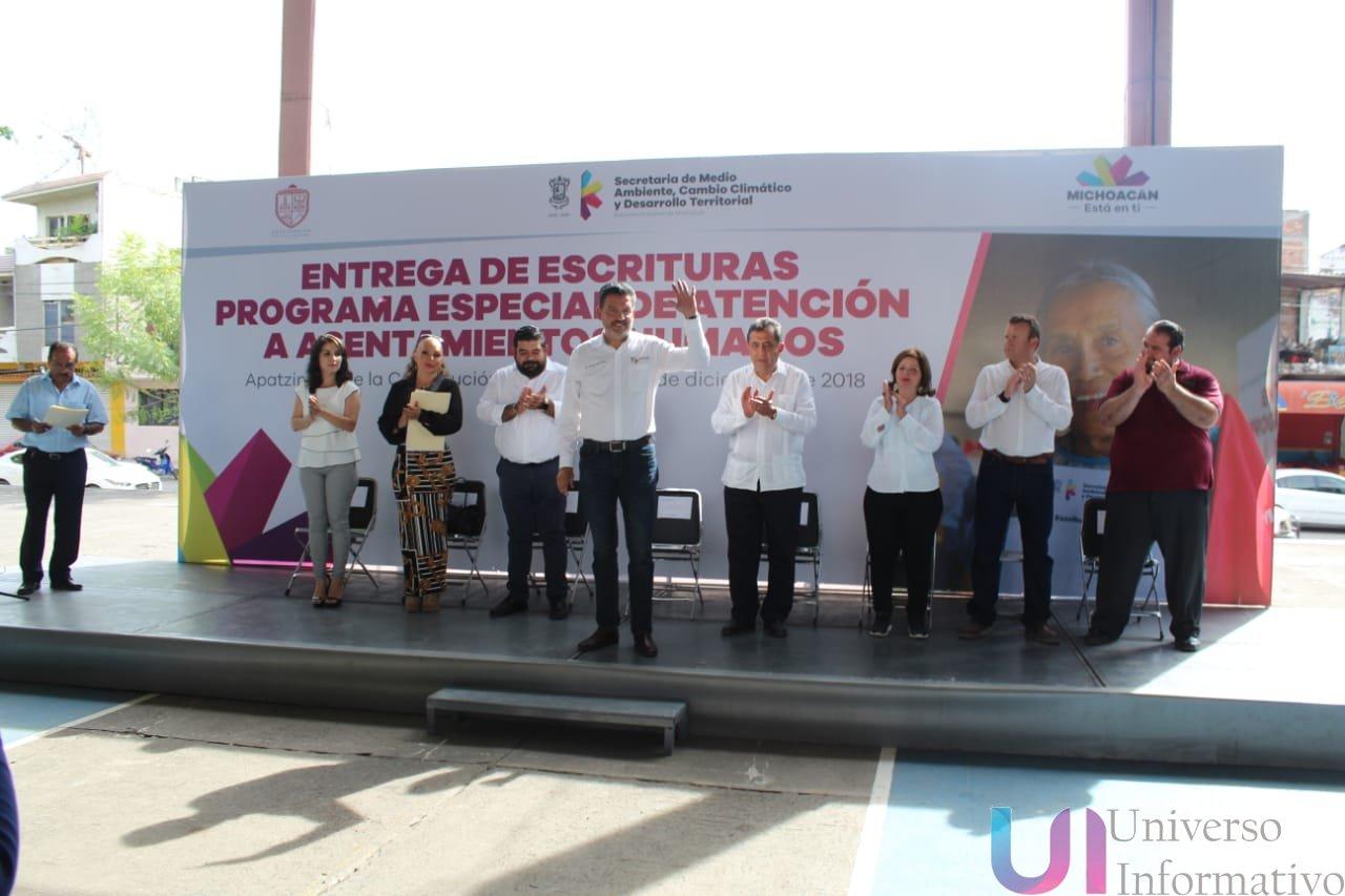 """Entrega de Escrituras Gratuitas, """"Fraccionamiento Fortín de Morelos"""""""