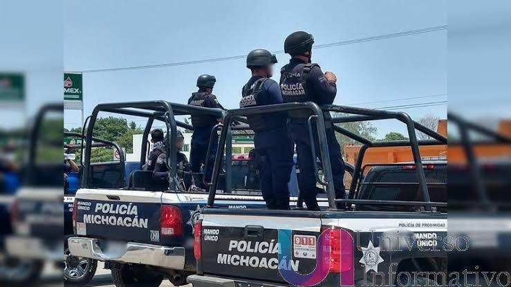 Una serie  Disparos alertan a las fuerzas de seguridad en  Apatzingán