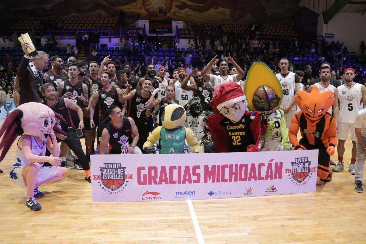 Vibra Morelia con el Juego de Estrellas de la LNBP 2018