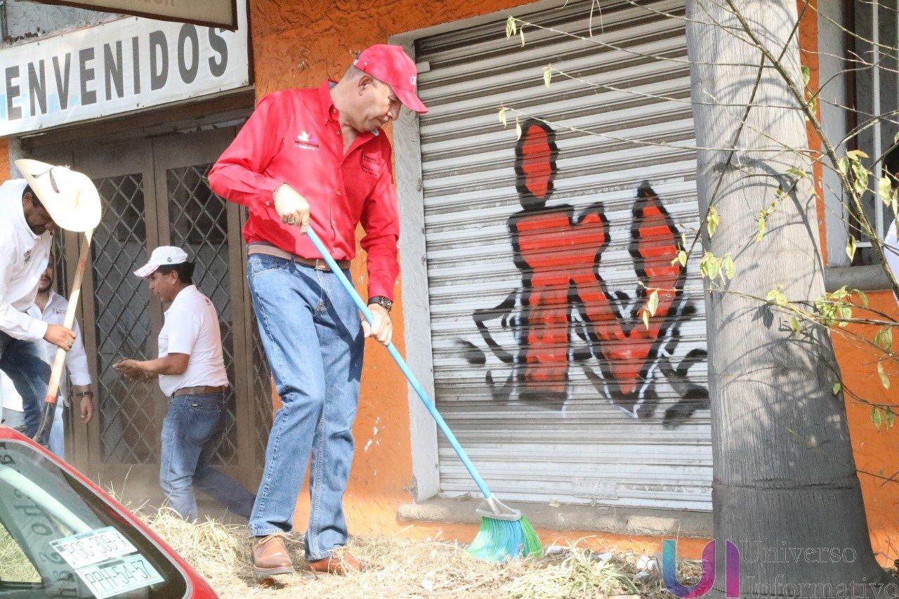 Personal de la SEE promueve limpieza y conservación ambiental