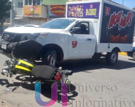 La imprudencia de los motociclistas sigue causando accidentes