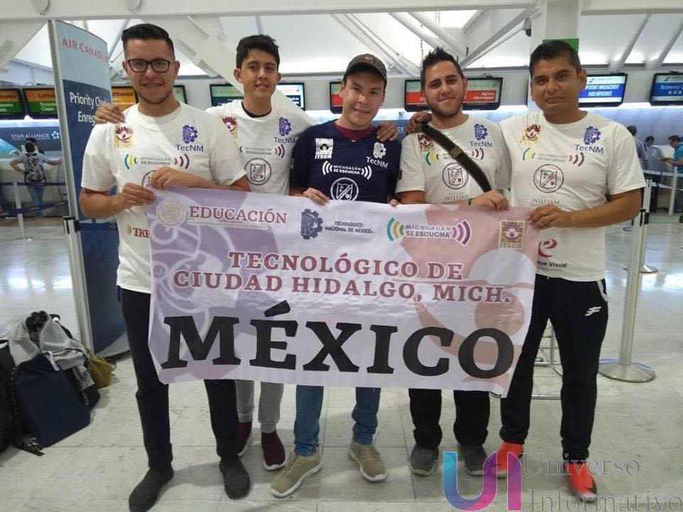 Tec de Hidalgo, entre los mejores 5 de la Robotchallenge 2019, celebrada en China