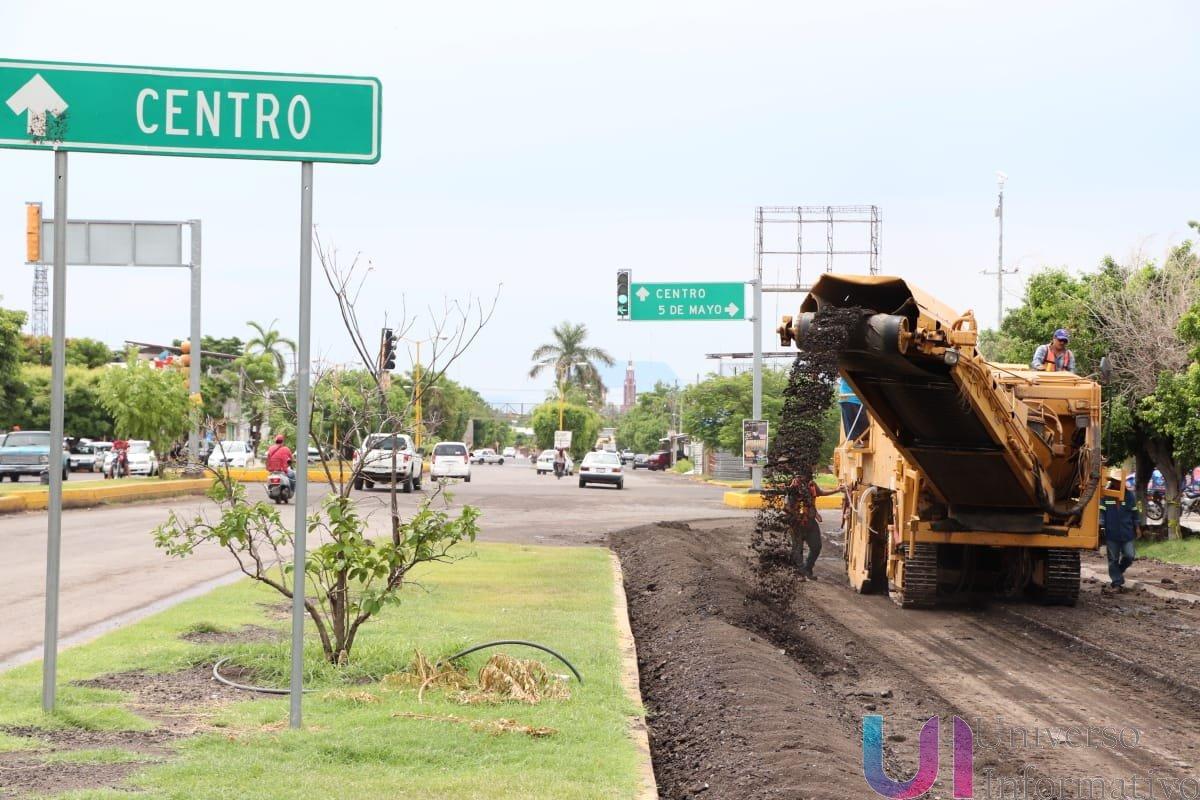 Inicia la reconstrucción del tramo 5 de Mayo- Puente Atimapa