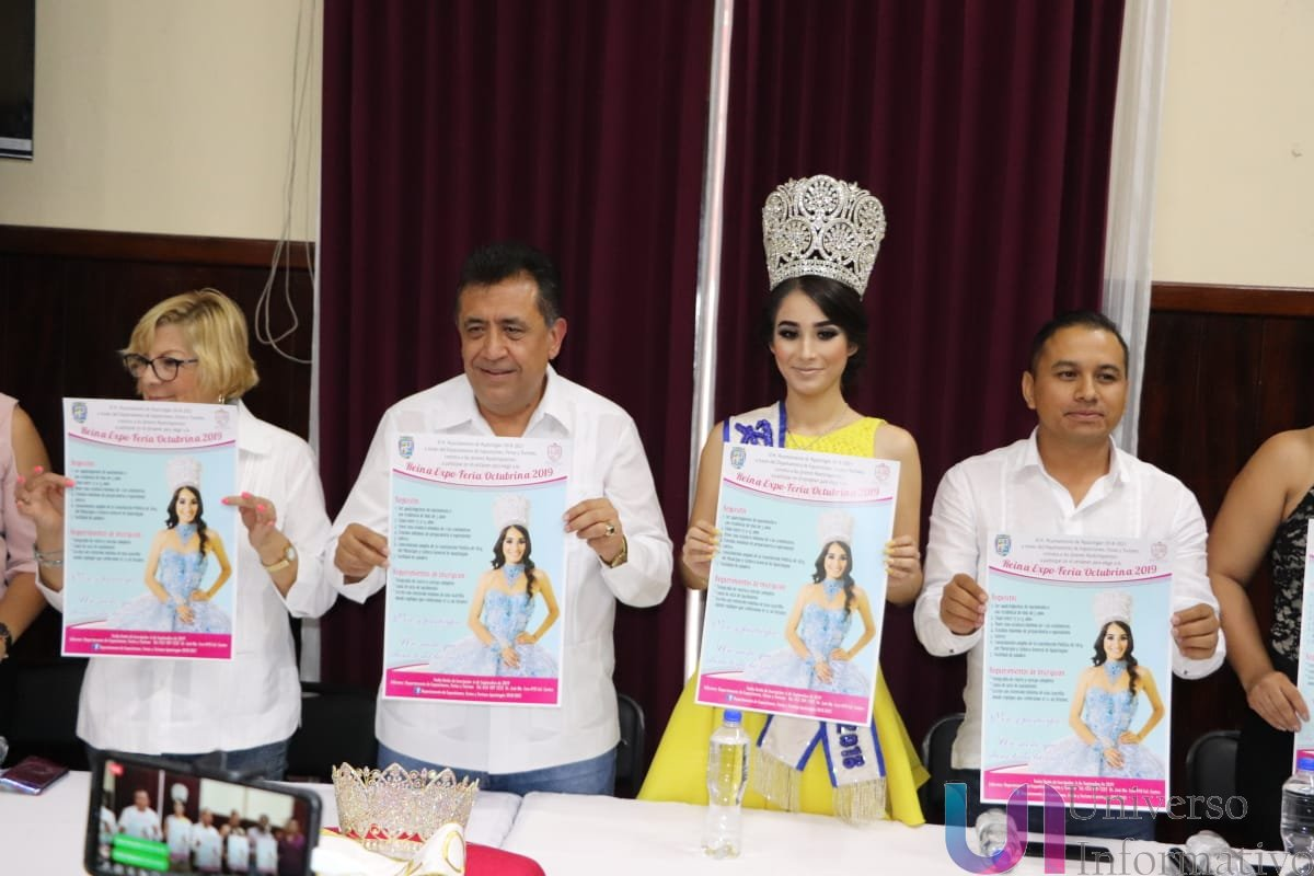 Lanzan convocatoria para Reina Octubrinas 2019