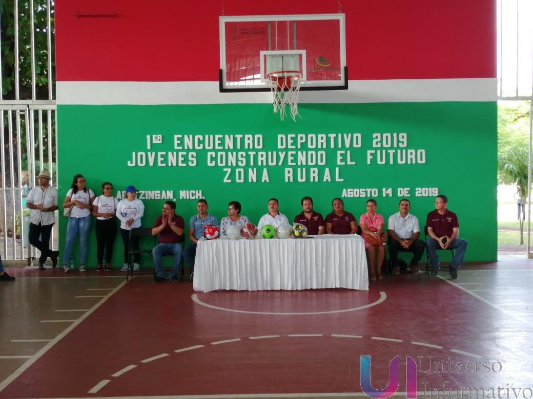"""Inauguran Primer Encuentro Deportivo """"Jóvenes Construyendo el Futuro"""""""