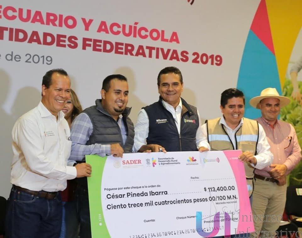 Incentiva Gobierno de Michoacán, 700 proyectos para el campo: Sedrua