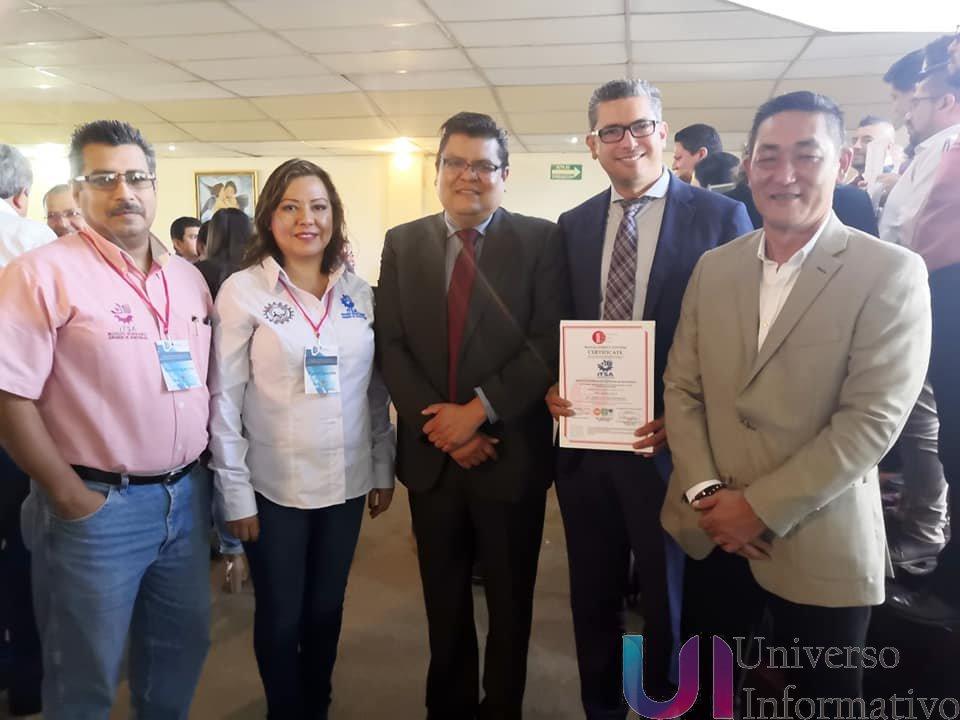 Tecnológico de Apatzingán recibe certificado del sistema de gestión de energía (norma ISO 50001:2018)