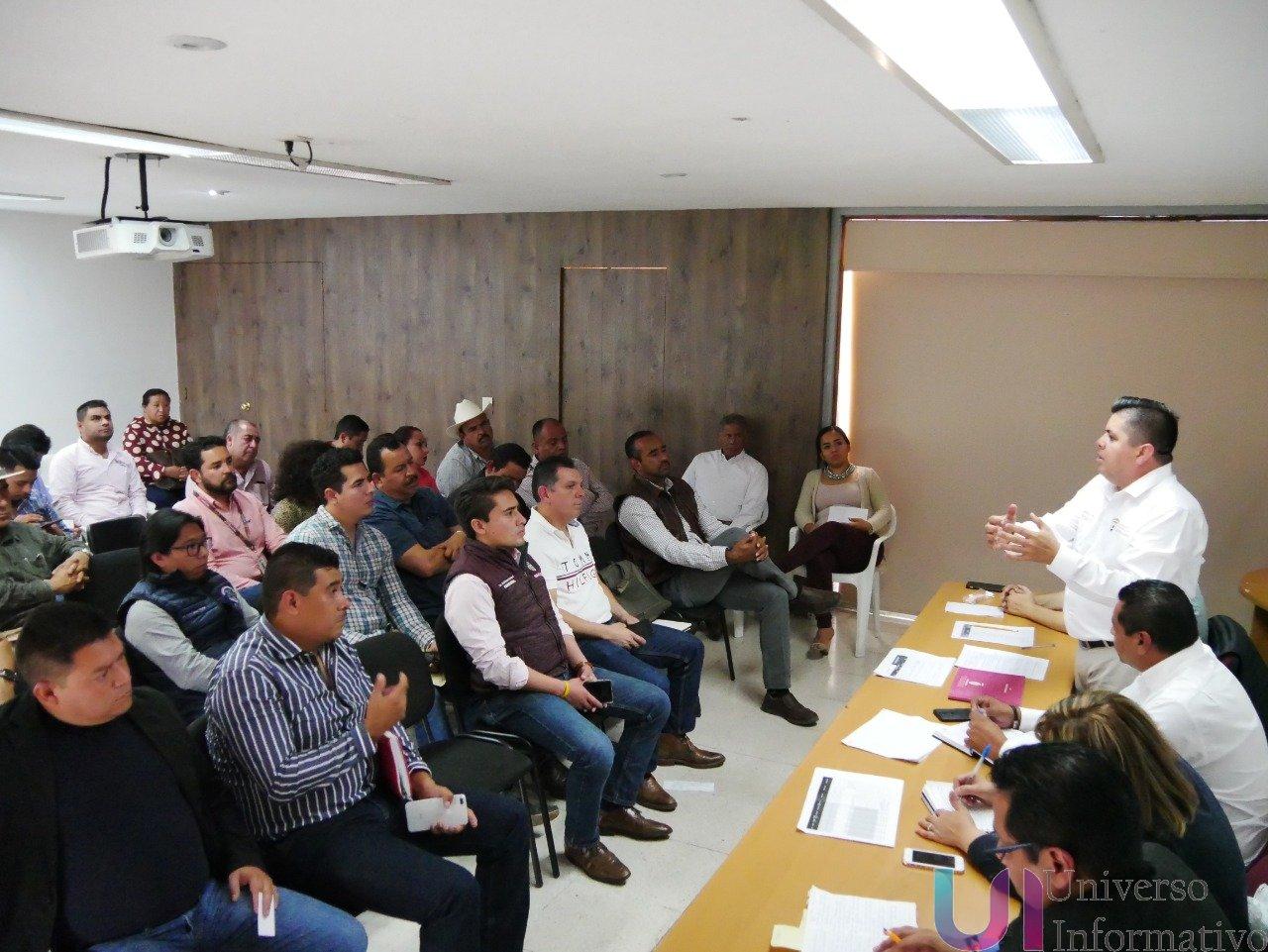Coordinan Federación y alcaldes, instalación de Bancos del Bienestar en Michoacán.