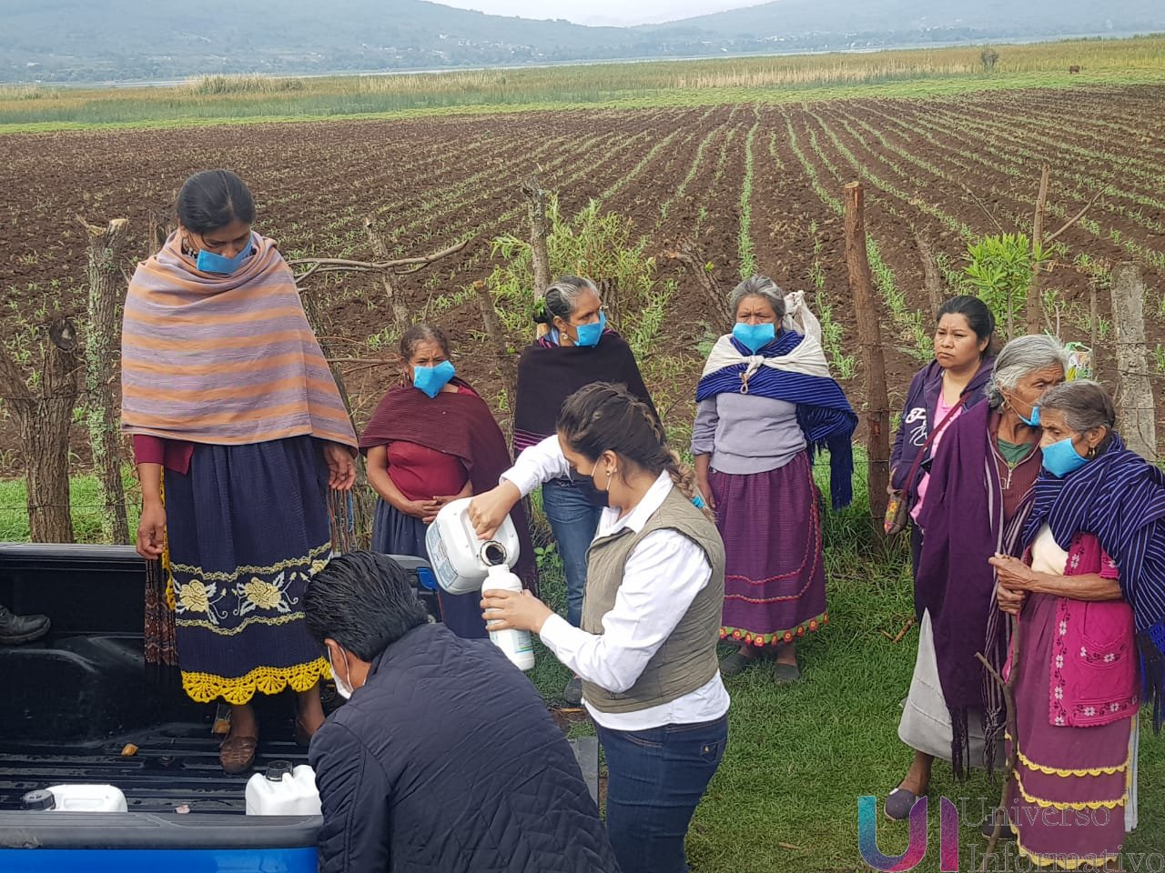 Con Agricultura Sustentable, mujeres purépechas rescatan tierras de agroquímicos