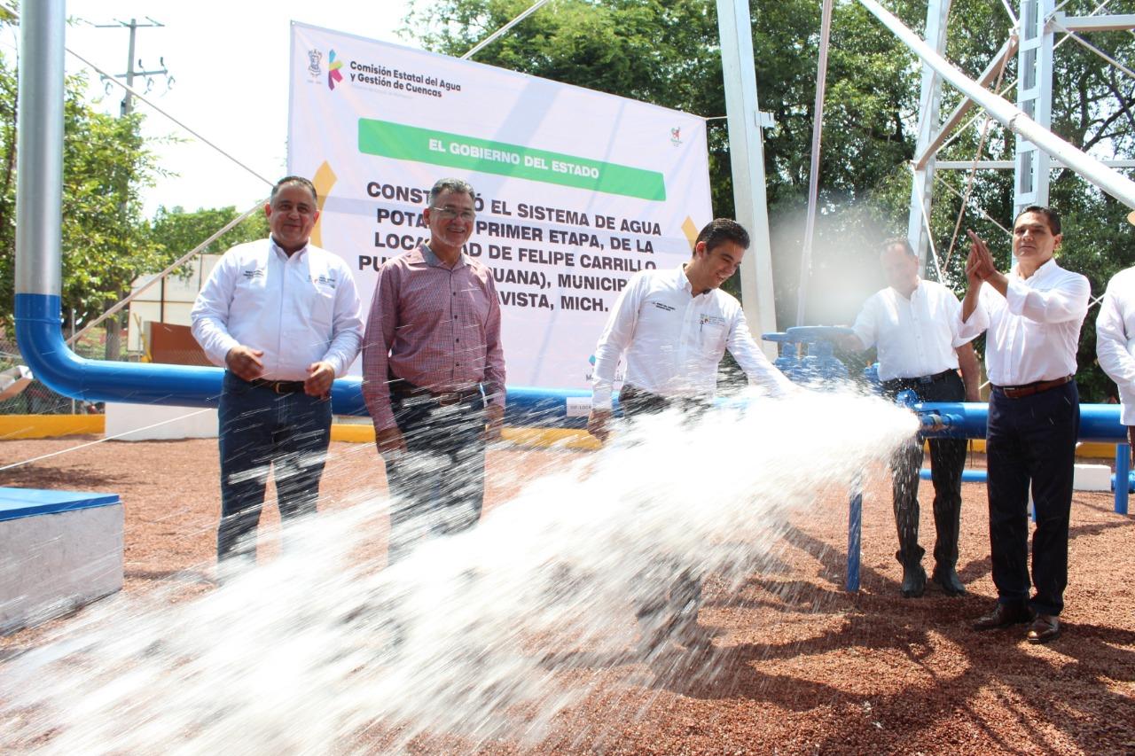Superan carencias de agua habitantes de la Región Apatzingán