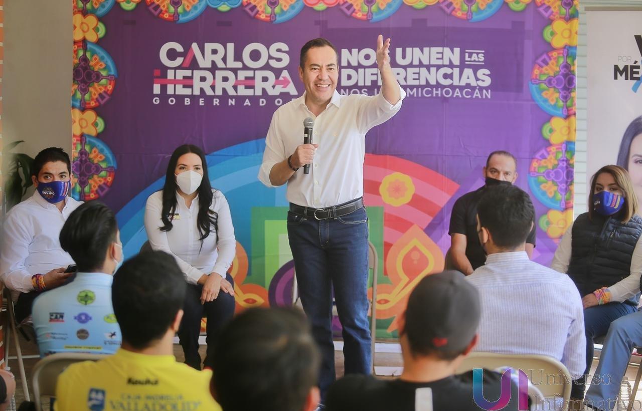 Gobernaré haciendo equipo con AMLO, mejoraremos los programas sociales: Carlos Herrera