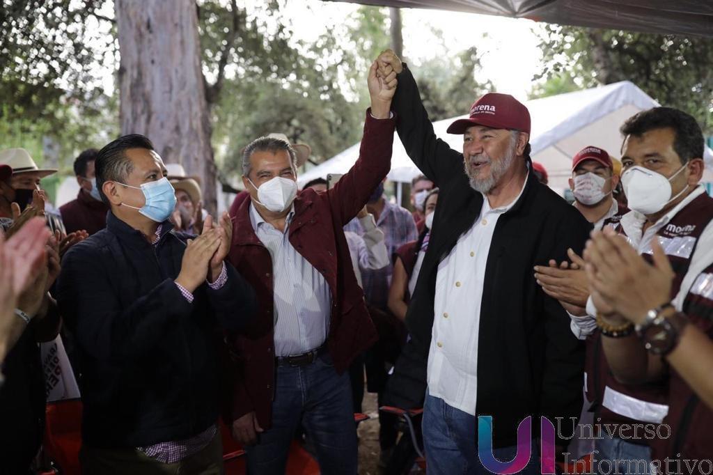 Legalidad y justicia confirmarán validez de mi candidatura: Raúl Morón